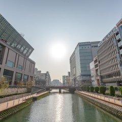 Okura Hotel Fukuoka Фукуока приотельная территория фото 2