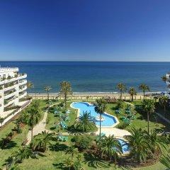 Отель Coral Beach Aparthotel пляж