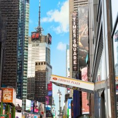 Отель Crowne Plaza Times Square Manhattan США, Нью-Йорк - отзывы, цены и фото номеров - забронировать отель Crowne Plaza Times Square Manhattan онлайн фото 9