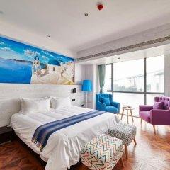 Отель Aizhu Boutique Theme Hotel Китай, Сямынь - отзывы, цены и фото номеров - забронировать отель Aizhu Boutique Theme Hotel онлайн комната для гостей фото 2