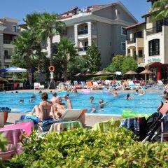 Club Turquoise Apartments Турция, Мармарис - отзывы, цены и фото номеров - забронировать отель Club Turquoise Apartments онлайн бассейн фото 3