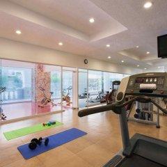 Отель Hilton Playa Del Carmen фитнесс-зал