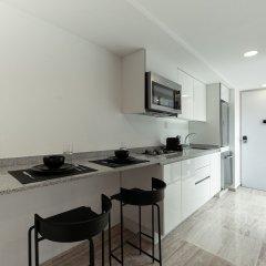 Апартаменты Coziest Studio in Condesa Мехико в номере