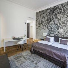 Отель Golden Crown Чехия, Прага - 7 отзывов об отеле, цены и фото номеров - забронировать отель Golden Crown онлайн комната для гостей фото 3