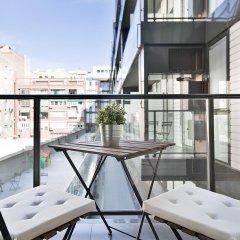 Отель Aparthotel BCN Montjuic балкон