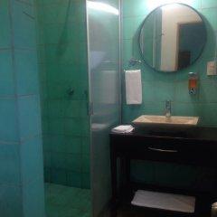 Отель Brujas-maravillosa Habitación 2p en Mazatlán ванная