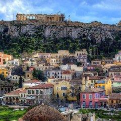 Апартаменты Affordable Studio Behind Acropolis Museum городской автобус