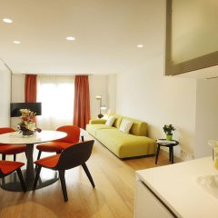 Отель Cosmo Apartments Rambla de Catalunya Испания, Барселона - отзывы, цены и фото номеров - забронировать отель Cosmo Apartments Rambla de Catalunya онлайн комната для гостей фото 4