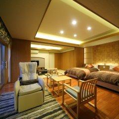 Отель Asagirinomieru Yado Yufuin Hanayoshi Хидзи комната для гостей фото 5