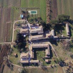 Отель Tenuta La Fratta Синалунга приотельная территория