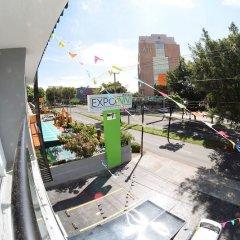 Отель Expo Inn Мексика, Гвадалахара - отзывы, цены и фото номеров - забронировать отель Expo Inn онлайн балкон