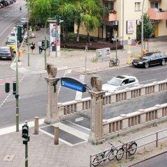 Отель Berliner City Pension Uhlandstrasse Берлин парковка