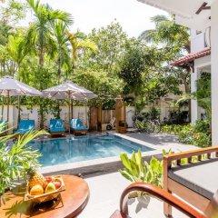 Отель An Bang Coco Villa бассейн фото 2