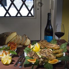 Отель Agriturismo Salemi Италия, Пьяцца-Армерина - отзывы, цены и фото номеров - забронировать отель Agriturismo Salemi онлайн питание