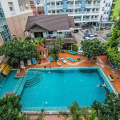 Отель Sutus Court 3 Таиланд, Паттайя - отзывы, цены и фото номеров - забронировать отель Sutus Court 3 онлайн балкон