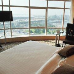 Отель Da Zhong Pudong Airport Hotel Shanghai Китай, Шанхай - 2 отзыва об отеле, цены и фото номеров - забронировать отель Da Zhong Pudong Airport Hotel Shanghai онлайн комната для гостей фото 2
