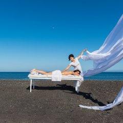 Отель Mediterranean Beach Palace Hotel Греция, Остров Санторини - отзывы, цены и фото номеров - забронировать отель Mediterranean Beach Palace Hotel онлайн фитнесс-зал фото 2