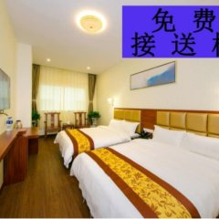 Отель Yuehang Hotel Китай, Чжухай - отзывы, цены и фото номеров - забронировать отель Yuehang Hotel онлайн комната для гостей фото 4