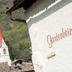 Отель Garni Gartenheim Кальдаро-сулла-Страда-дель-Вино с домашними животными