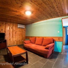 Отель Aparthotel Alexander Аврен комната для гостей фото 4
