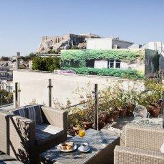 Hermes Hotel Афины балкон