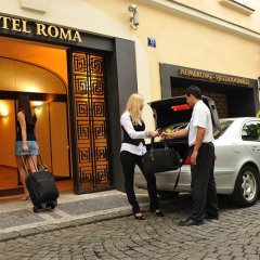 Hotel Roma Prague городской автобус