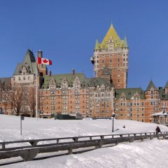 Отель Fairmont Le Chateau Frontenac Канада, Квебек - отзывы, цены и фото номеров - забронировать отель Fairmont Le Chateau Frontenac онлайн приотельная территория