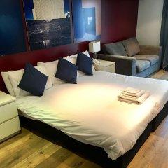 Отель Brunswick Merchant City Hotel Великобритания, Глазго - отзывы, цены и фото номеров - забронировать отель Brunswick Merchant City Hotel онлайн комната для гостей фото 2