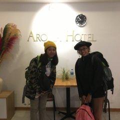 Sapa Aroma Hotel интерьер отеля