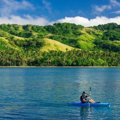 Отель Namale The Fiji Islands Resort & Spa Савусаву фитнесс-зал фото 4