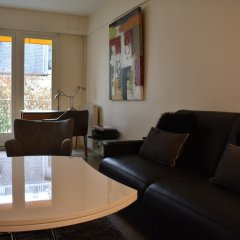 Апартаменты Studio Apartment Near Trocadéro & Champs Elysées комната для гостей фото 3