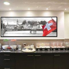 Отель Walhalla Guest House Швейцария, Цюрих - отзывы, цены и фото номеров - забронировать отель Walhalla Guest House онлайн питание фото 2