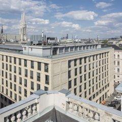 Отель Austria Trend Hotel Rathauspark Австрия, Вена - 11 отзывов об отеле, цены и фото номеров - забронировать отель Austria Trend Hotel Rathauspark онлайн балкон