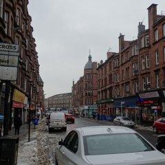 Апартаменты CDP Apartments Kelvinhall Глазго городской автобус