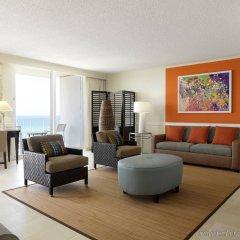 Отель Hilton Rose Hall Resort and Spa Ямайка, Монтего-Бей - отзывы, цены и фото номеров - забронировать отель Hilton Rose Hall Resort and Spa онлайн комната для гостей фото 3