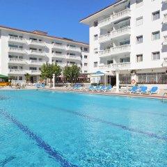 Отель Апарт-Отель Europa Испания, Бланес - 2 отзыва об отеле, цены и фото номеров - забронировать отель Апарт-Отель Europa онлайн бассейн