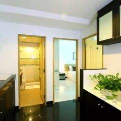 Отель The Laurel Suite Apartment Таиланд, Бангкок - отзывы, цены и фото номеров - забронировать отель The Laurel Suite Apartment онлайн ванная фото 2