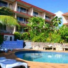 Отель Capricorn Apartment Hotel Suva Фиджи, Вити-Леву - отзывы, цены и фото номеров - забронировать отель Capricorn Apartment Hotel Suva онлайн бассейн фото 3