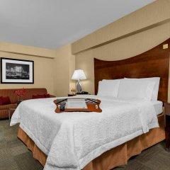 Отель Hampton Inn Manhattan-Times Square North комната для гостей фото 3