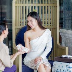 Отель U Sathorn Bangkok сауна