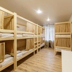 Nice Hostel Павелецкая Стандартный номер с двуспальной кроватью фото 5