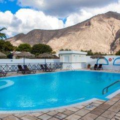 Отель Marybill Греция, Остров Санторини - отзывы, цены и фото номеров - забронировать отель Marybill онлайн бассейн фото 2