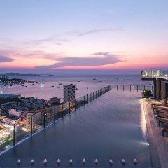 Отель Pattaya Central Sea View Pool Suite Паттайя приотельная территория