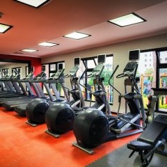 Отель Хилтон Хургада Резорт фитнесс-зал фото 2