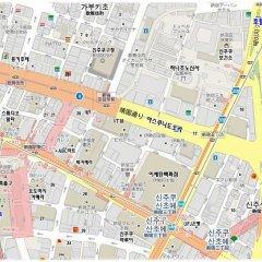 Hotel Sunlite Shinjuku городской автобус