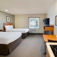 Отель WoodSpring Suites Columbus North I-270 США, Колумбус - отзывы, цены и фото номеров - забронировать отель WoodSpring Suites Columbus North I-270 онлайн комната для гостей фото 2