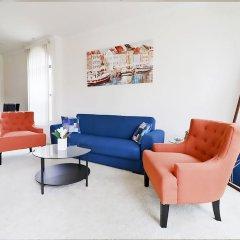Апартаменты Downtown LA Inspiring Apartments комната для гостей фото 4