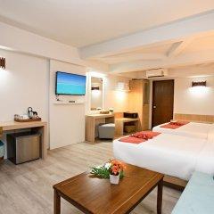 Отель Villa Cha-Cha Krabi Beachfront Resort Таиланд, Краби - отзывы, цены и фото номеров - забронировать отель Villa Cha-Cha Krabi Beachfront Resort онлайн удобства в номере