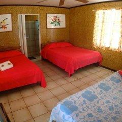 Отель Pension Justine Французская Полинезия, Тикехау - отзывы, цены и фото номеров - забронировать отель Pension Justine онлайн комната для гостей фото 3