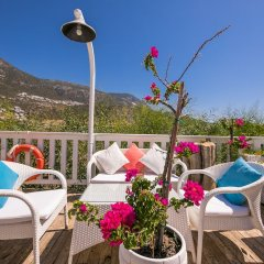 Likya Residence Hotel & Spa Boutique Class Турция, Калкан - отзывы, цены и фото номеров - забронировать отель Likya Residence Hotel & Spa Boutique Class онлайн балкон